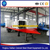 Arch curving machine for roofing panels arched corrugated roofing tiles forming machine