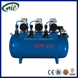 New design silent oilless air compressor/high pressure mini air compressor