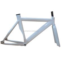 China 700C OEM track aluminum alloy fixie bike frame