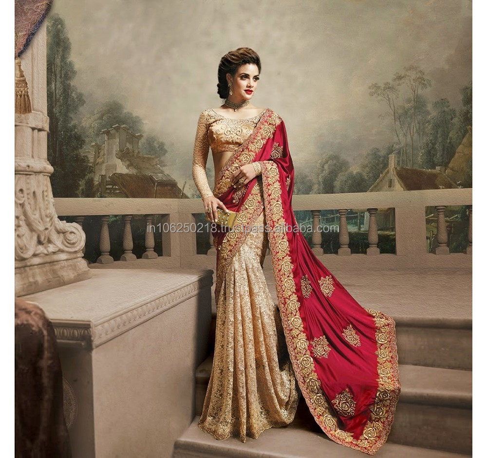 Fancy Wedding Indian Saree Wedding Indian Sarees Indian