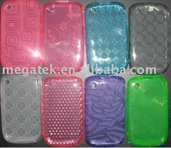 Mobile phone accessories phone case Colorful gel TPU case for Blackberry
