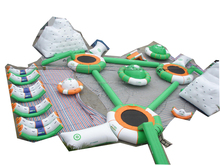 Innovative commercial giant outdoor inflatable water park for sale