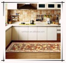Decorative kitchen mat
