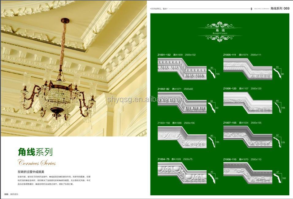 Z ro flamme fran ais style d coratif or plafond d me for Faux plafond en platre style francais