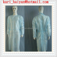 For Hospital Nonwoven S, M, L, XL, XXL Size Disposable Surgical Gown and Cap