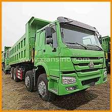 371 horsepower weichai diesel engine EGR HOWO dump truck for sale