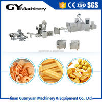 Screw/Shell/Crispy Inflating snack Food Processing Line/snack machine