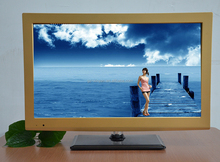 """guangzhou television2015 17"""" WELL Small Unique Design HD LCD TV With Silk Screen Printing"""