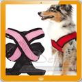 Suave correa Mesh Breathe chaleco ajustable del animal doméstico del arnés del perro ropa