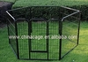 8 panels folding metal wire pet playpen,pet fence