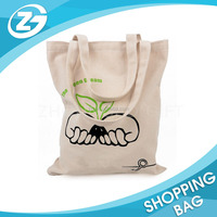 Factory Direct Sale Custom Recycled High Quality Natural Color Picture Printed Plain Eco Organic Cotton Canvas Foldable Bag