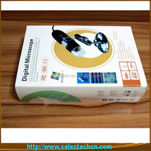 New Design 2.0M 500X microscope camera With Measure tools and 8 LED lights SE-DM-500X