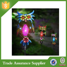 Metal Solar Lights Outdoor Solar Hummingbird/Solar Iron
