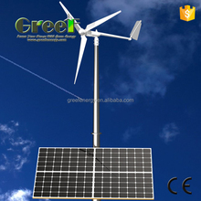 HOT ! 3KW solar hybrid wind turbine for house use off grid system , with CE certification for sale