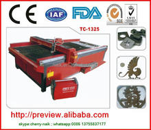 Low cost but high efficiency used plasma cutting tables/plasma cutting table for sale for sale TC-1325
