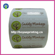 Custom Adhesive Sticker Printing, Manufacturing Glossy Self Adhesive Label.