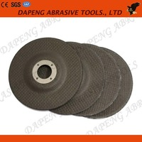 4.5 inch crankshaft aluminum oxide cutting and grinding wheel/disc for stainless steel