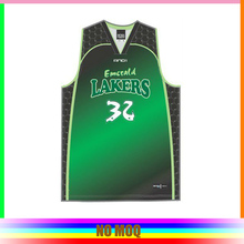 100%polyester with all over printing basketball jersey pictures