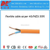 flexible wires and cables,flexible plastic cable sheath,3 core 1.5mm flexible wire,3 core cable by AS/NZS3191