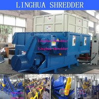 low noise shredding agricultural shredder machine with CE