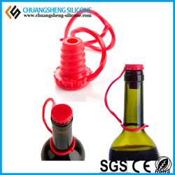 silicone lid handle cover, hangable beer bottle cover, funny beer can cover