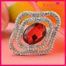 2015 hot sale rhinestone crystal magnetic brooch for dress WBR-1526