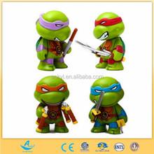 Customized cartoon ninja toys turtle figures hot children toys