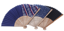 Personalized decorative bamboo folding hand fans
