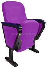 China supplier seat for theater , fabric foldable auditorium chair AW-19A