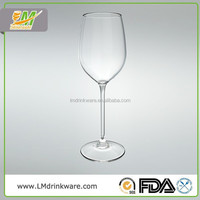 2015 Hot Standard Classic polycarbonate italian goblet wine glasses