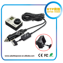 top selling 3.7V GP-405 30 pin power kit for gopro hero with car charger