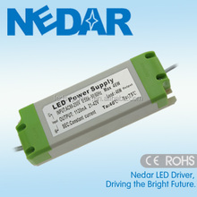 Plastic Housing LED Power Driver 40W 1250mA 1200mA Constant Current DC 20-50V Singel Output Type