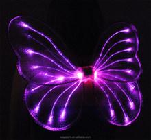 high quality LED fairy wings with headband wand set