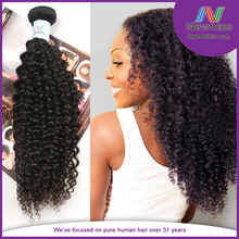 French natural fluffy hair naturally curly wholesale