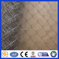 Deming factory high quality and standard chain link fence mesh fabric