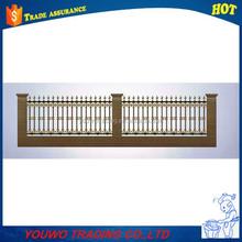Veranda used wrought iron aluminum balcony railing