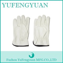 Cow grain style and daily life usage custom made leather driving gloves