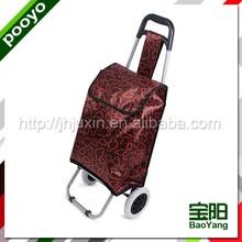 fashion shopping trolley bag 3-shelf camping cupboard