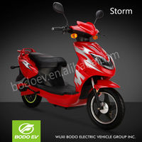 Storm 60V lead acid battery electric scooter motorcycle with pedals