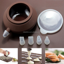 Home Built 48 Cycle Silicone Macaroon Pastry Cake Baking Mat+decoration Pen Set Butter Squeezer Baking Tool Mould Kit
