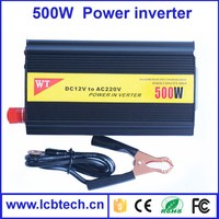 Top selling 500W Car Power Inverter with Cable or Cigarette lighter charger
