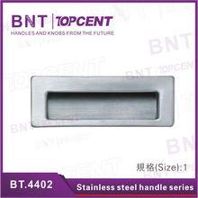 Rectangular Stainless steel recessed pull kitchen cabinet door handle