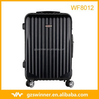 ABS PC trolley luggage in set/ beauty suitcase/ fashionable travel bag Spinner Wheels