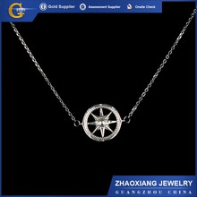 CN0026 316l Stainless Steel necklace with round small chains lively present