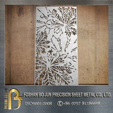 China supplier steel metal product custom living roon decorative laser cut screen