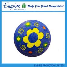 Logo Printed Branded promotional custom rubber playground ball