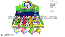 Cheap promotional wind up chicken toy cartoon for children