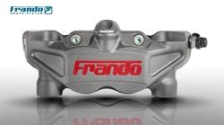 Frando 108 mm mounts 4 Pistons Motorcycle Brake Caliper for TRIUMPH DAYTONA TRIPLE 675 SPEED TRIPLE Tiger 1050