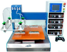 Automatic 3 axis dispensing robot with CE certification . Automatic glue dispenser
