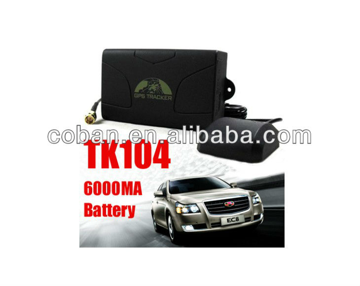 Rastreador Localizador Bloqueador Gps104pro Gsm/gprs/sms 100 dias com bateria de longa duração